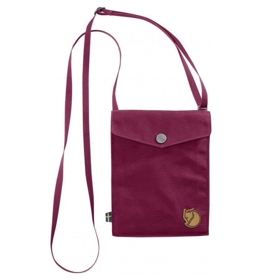 Fjallraven Pocket Shoulder Bag – Plum