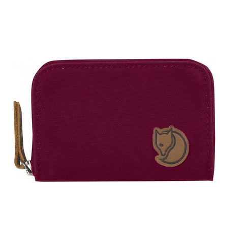 Fjallraven Zip Card Holder – Plum