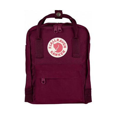 Plum - Mini Fjallraven Kanken Backpack