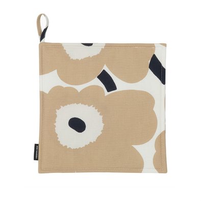 Pieni Unikko Pot Holder - Beige