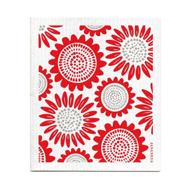 Sunflower - Red - The Amazing Swedish Dish Cloth