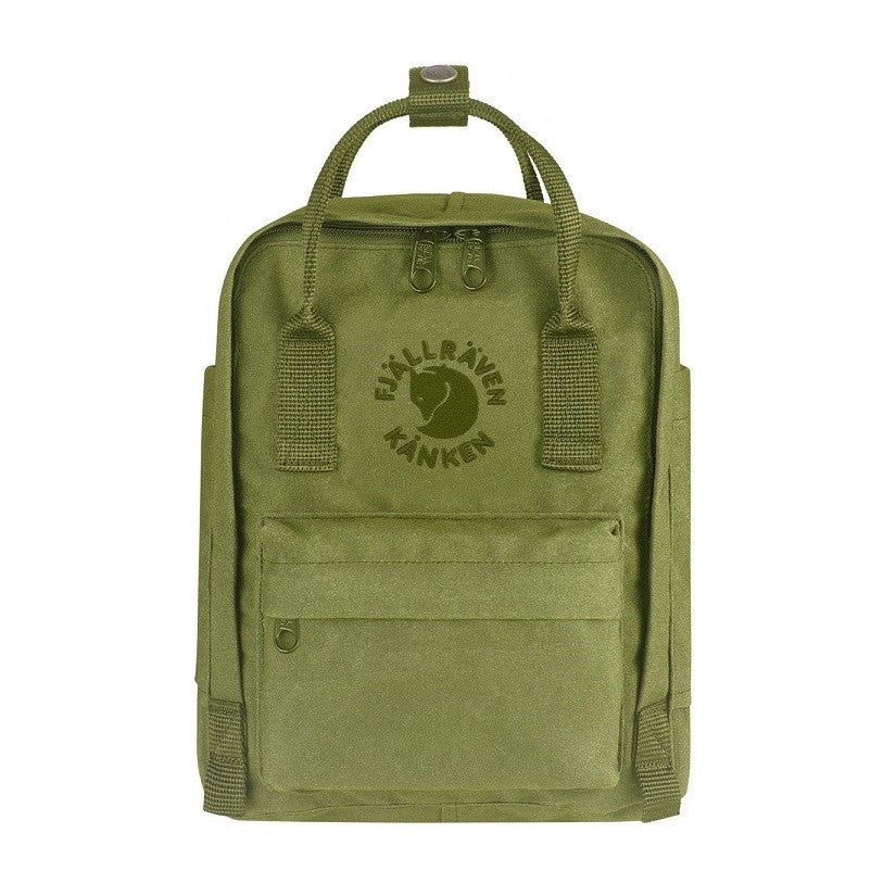 Fjallraven RE-Kanken Recycled Mini Backpack – Spring Green