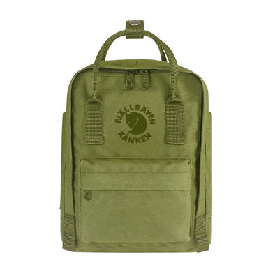 Spring Green - RE-Kanken Mini Fjallraven Recycled Backpack