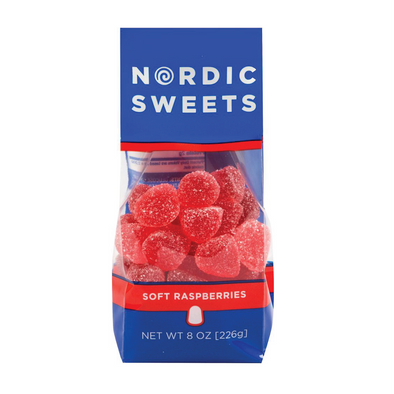 Soft Raspberries from Nordic Sweets