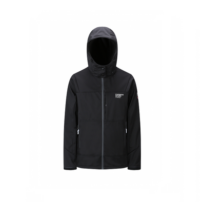 3 Layer Softshell Jacket Unisex - Black