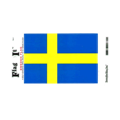 Sweden Flag Vinyl Car Decal