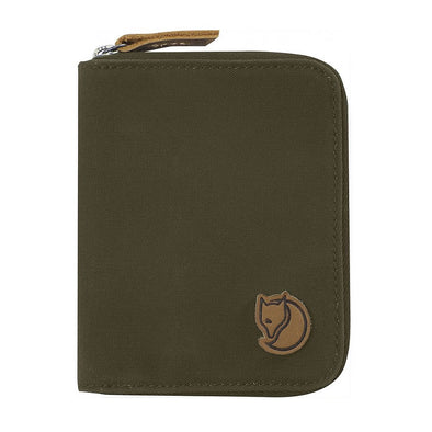 Dark Olive - Zip Wallet Fjallraven