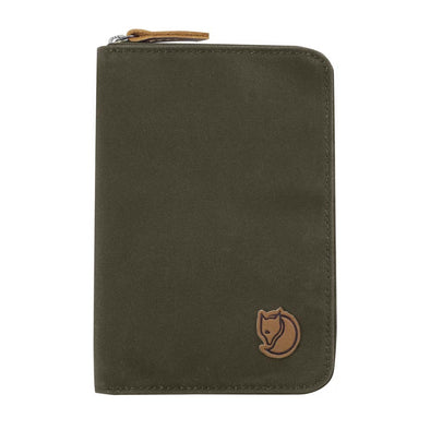 Dark Olive - Passport Wallet Fjallraven