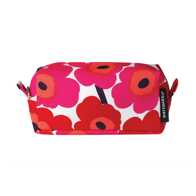 Tiise Mini Unikko Cosmetic Bag - Red