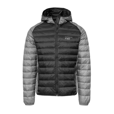 Ultra Light Down Jacket Unisex - Black & Grey