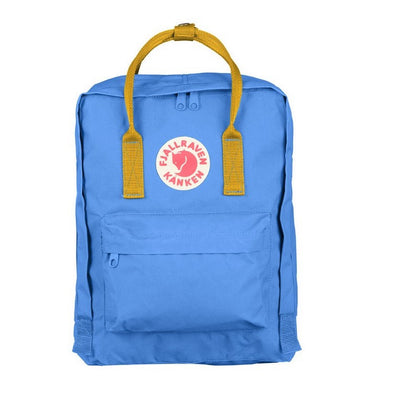 UN Blue & Warm Yellow - Classic Fjallraven Kanken Backpack