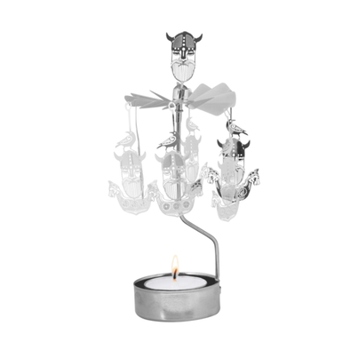 Vikings - Rotating Carousel Candle Holder