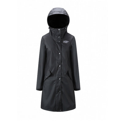 Rain Coat - Womens - Black