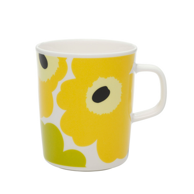 Unikko Mug - Yellow