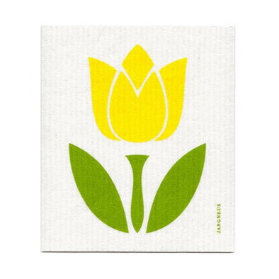 Tulip - Yellow - The Amazing Swedish Dish Cloth