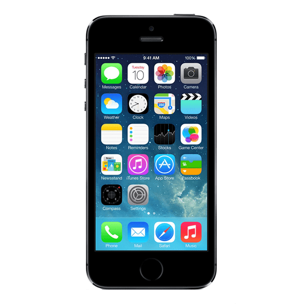 Refurbished iPhone 5S GSM Unlocked Space Gray 16GB (ME296LL/A) (A1533)