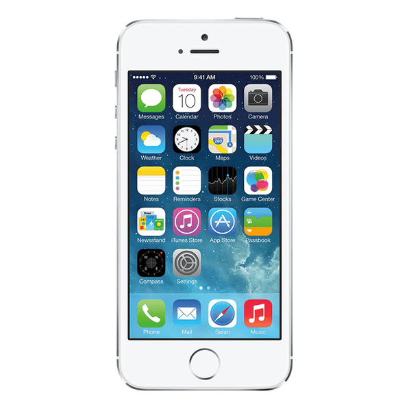 Refurbished iPhone 5S AT&T Silver 16GB (ME306LL/A) (A1533)