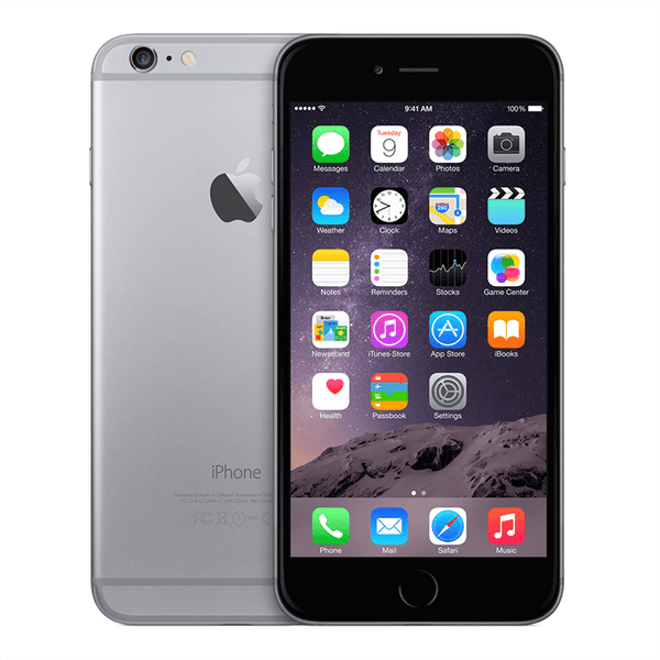 Refurbished iPhone 6 Plus Space Gray AT&T 16GB (MGAL2LL/A) (A1522)