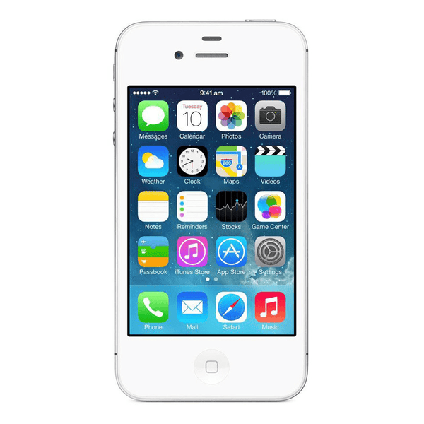 Refurbished Apple iPhone 4S GSM Unlocked White 16GB (MD237LL/A) (A1387)