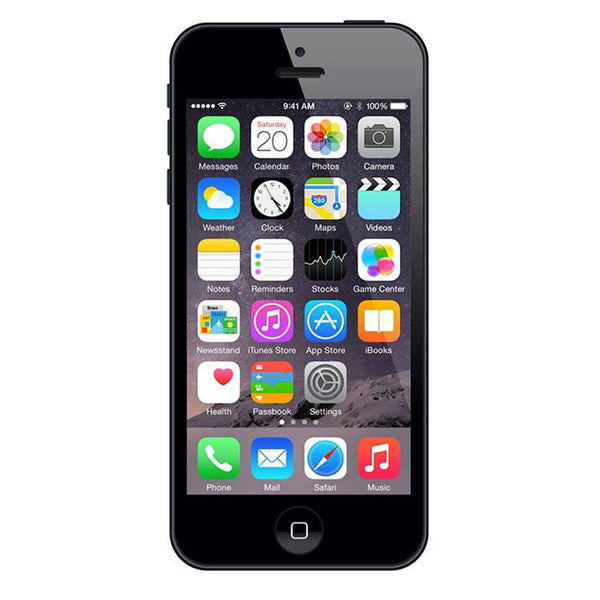 Refurbished Apple iPhone 5 GSM Unlocked Slate 16GB (MD293LL/A) (A1428)