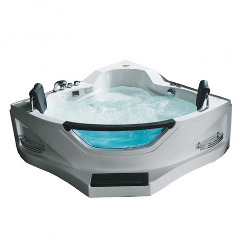Ariel Mesa BT-084 Whirlpool Air Two Person Corner Tub