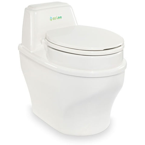 Biolet EZLoo 115V Waterless Compostable Toilet BTS33 - BathVault