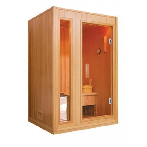Sunray 2 Person Baldwin HL200SN Traditional Steam Sauna - BathVault