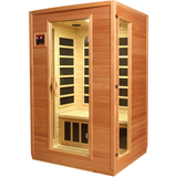 Golden Designs 2 Person Low EMF Far Infrared Sauna GDI-6202-03