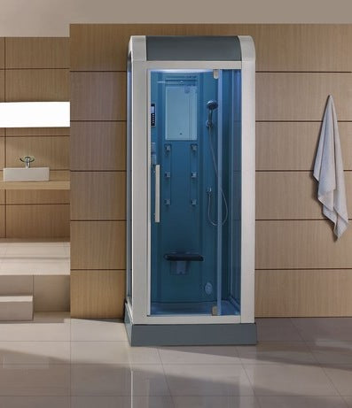 "Mesa 502L Steam Shower 36""L x 36""W x 89""H - BathVault"