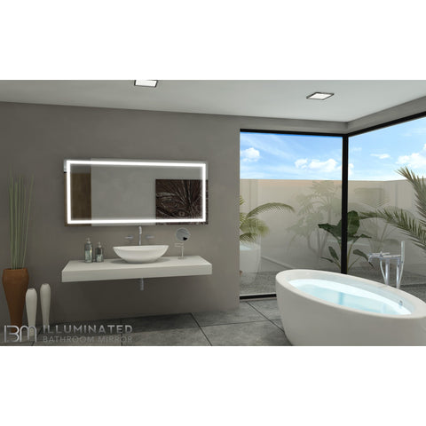 IB Mirror Illuminated Vanity Mirror - Paris Harmony - BathVault