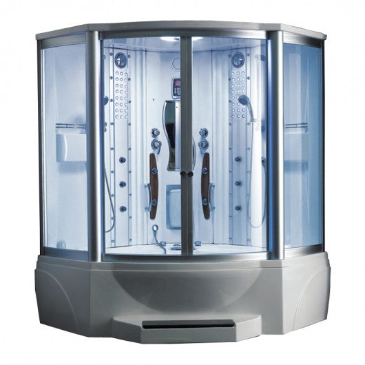Mesa 608A Steam Shower Jetted Tub Combination - BathVault