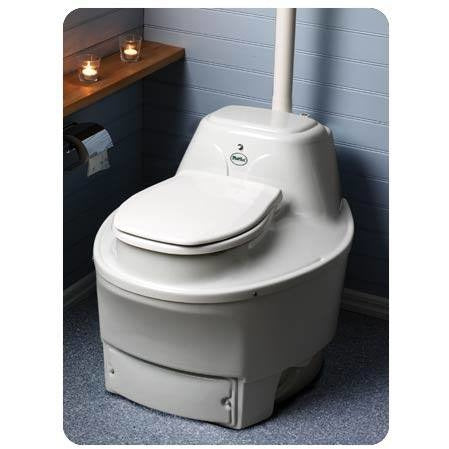 Biolet 60 XL Composting Toilet Waterless BIO65 - BathVault