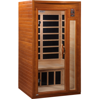 Golden Designs 2 Person Dynamic Infrared Sauna Barcelona Edition DYN-6106-01 - BathVault