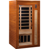 Image of Golden Designs 2 Person Dynamic Infrared Sauna Barcelona Edition DYN-6106-01