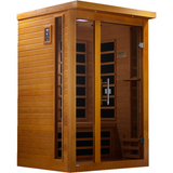 Golden Designs Infrared Sauna Dynamic Vienna Edition DYN-6215-01 - BathVault