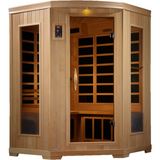 Golden Designs 3 Person Low EMF Far Infrared Sauna GDI-6235-02 - BathVault