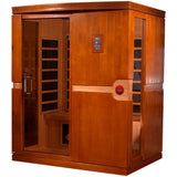 Golden Designs Infrared Sauna Dynamic Madrid I Edition DYN-6310-01 - BathVault