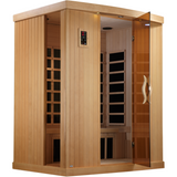 Golden Designs 3 Person Near Zero EMF Far IR Sauna GDI-6354-01 - BathVault