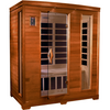 Image of Golden Designs 3 Person Infrared Sauna Dynamic Modena Edition DYN-6444-04 - BathVault
