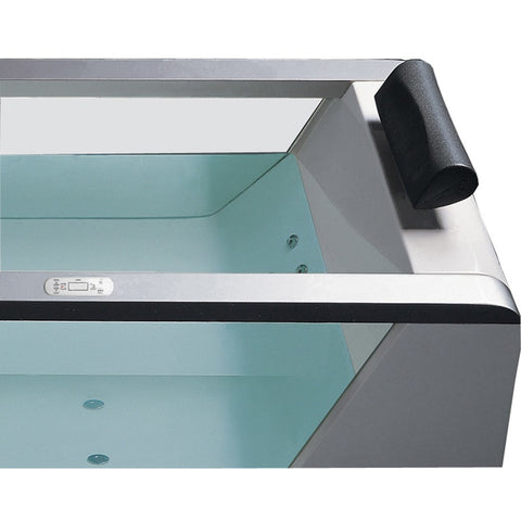 "ARIEL Platinum AM152 59"" Whirlpool Bathtub with Massage Jets - BathVault"
