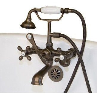 Cambridge Plumbing Clawfoot Tub Faucet British Telephone CAM463W BathVault