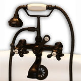 Cambridge Plumbing Clawfoot Tub Faucet - Telephone CAM463-2 - BathVault