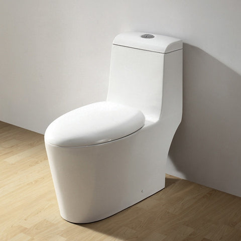 ARIEL Royal Elongated Toilet with Dual Flush CO-1042 - BathVault