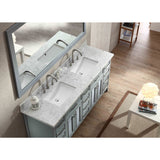 "ARIEL Kensington 73"" Double Sink Vanity Set D073D - BathVault"