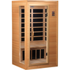 Image of Golden Designs 1-2 Person Low EMF Far Infrared Sauna GDI-3106-01