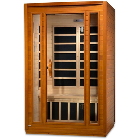 Golden Designs 2 Person Dynamic Infrared Sauna Santa Monica Edition DYN-6206-03
