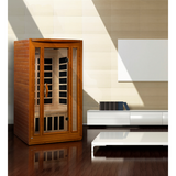 Golden Designs 2 Person Dynamic Infrared Sauna Santa Monica Edition DYN-6206-03 - BathVault