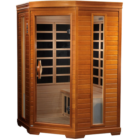 Golden Designs 2 Person Dynamic Infrared Sauna LeMans Edition DYN-6225-02
