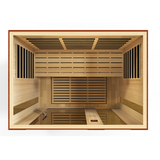 Golden Designs Infrared Sauna Dynamic Palmero Edition DYN-6330-01 - BathVault