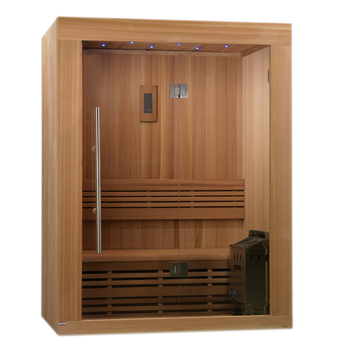 Golden Designs 2-3 Person Traditional Steam Sauna Sundsvall Edition GDI-7289-01